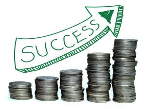 Money Saving And Passive Income Concept idea
